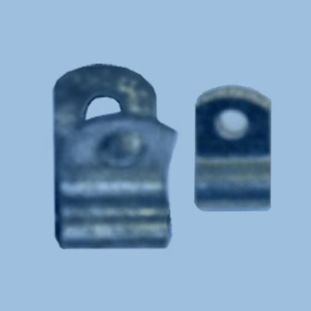 nylon or steel surface mount hinge clip