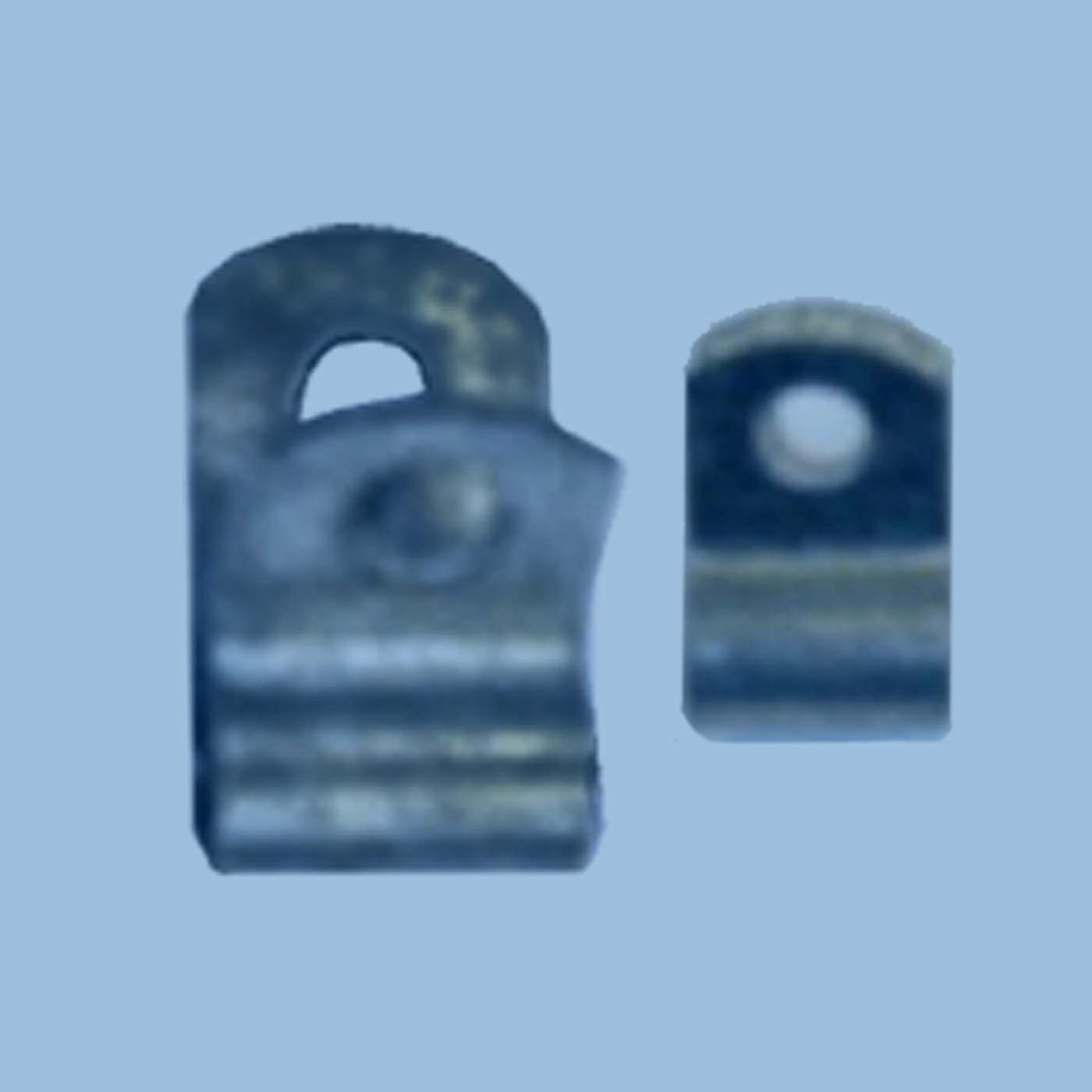 Nylon or Steel Surface Mount Hinge Clip
