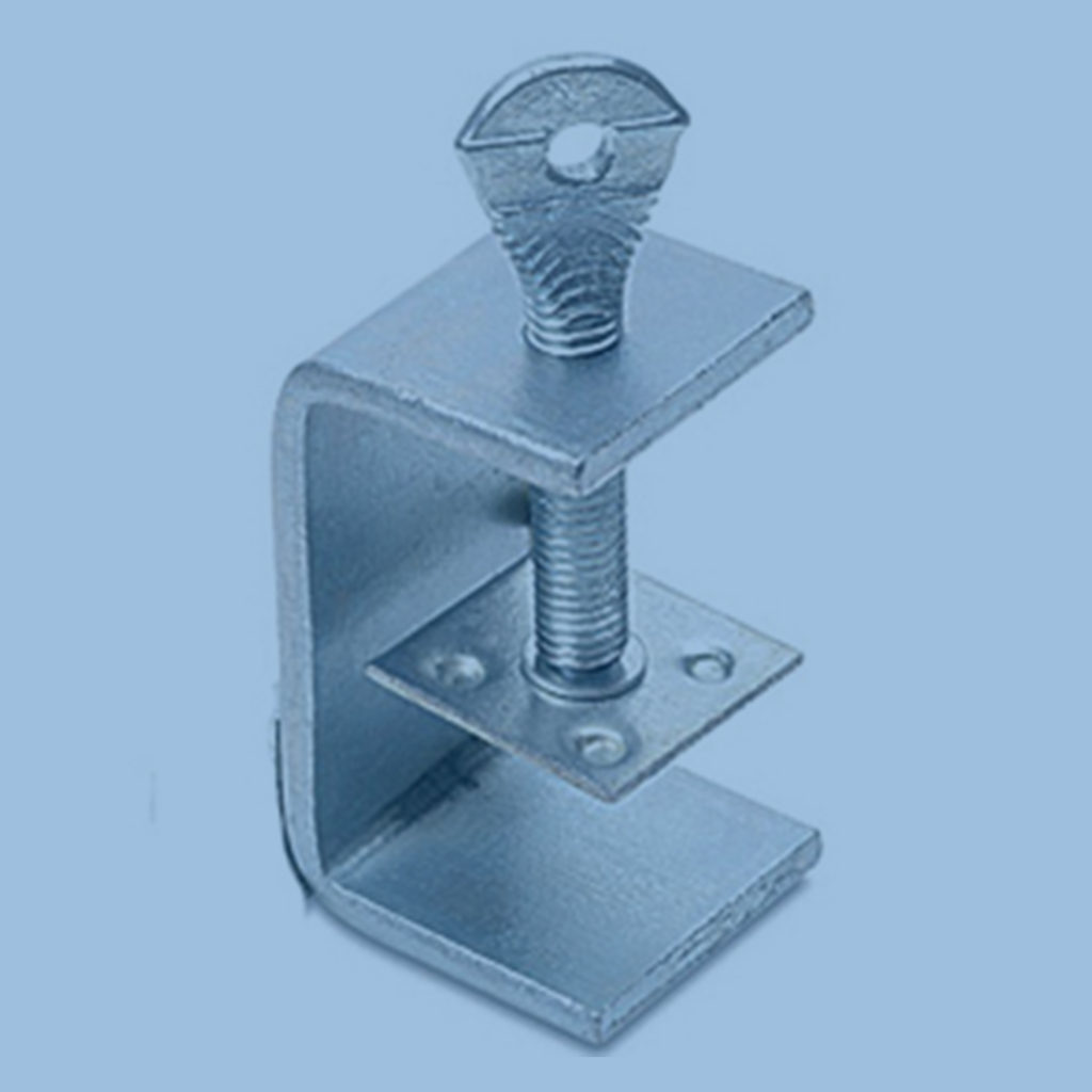 steel hinge clamps for industrial reflectors